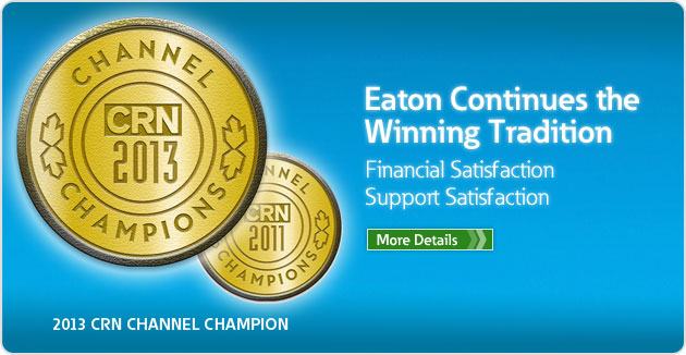 Eaton listed as 2013 CRN Channel Champion