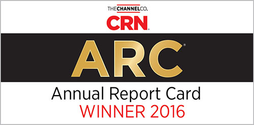 The Channel Company CRN ARC Annual Report Card Winner for 2016